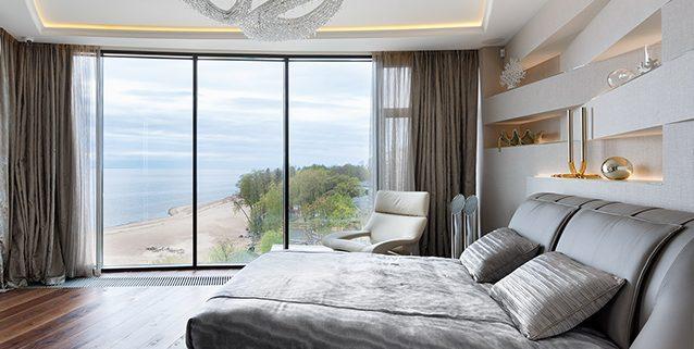 Современная спальная, Manooi Crystal Chandeliers