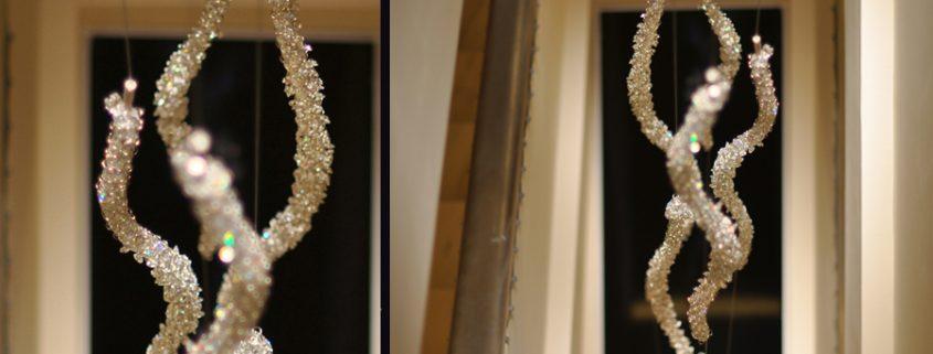 Полярный Свет – Изящное световое решение в HOTEL ZARA, Manooi Crystal Chandeliers