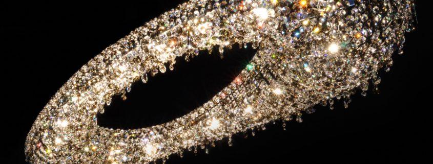 Люстра из хрусталя Artica, Manooi Crystal Chandeliers